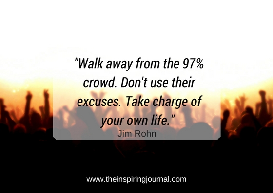 Walk away from the 97%