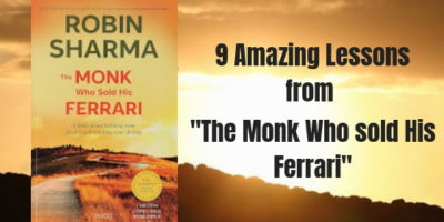 The Monk Who sold His Ferrari lessons robin sharma quotes
