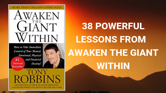 awaken the giant within lessons quotes