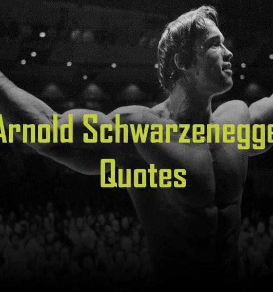 top 10 Arnold Schwarzenegger quotes gym