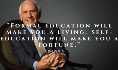 Jim Rohn Quotes on Reading Books
